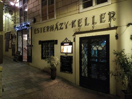"absacker im ""esterhazy keller"" ..."