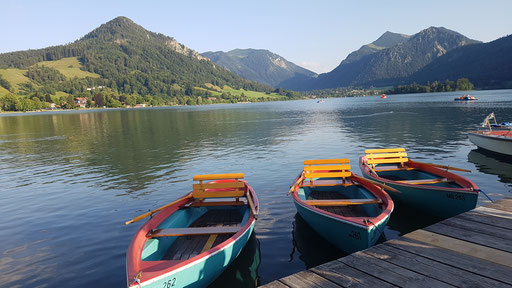 tagesausklang am schliersee