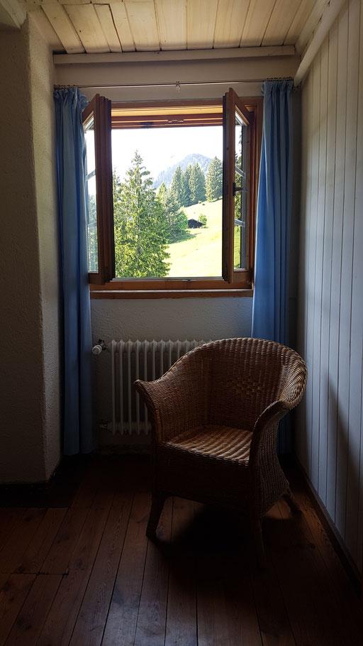 ... oder am sillberghaus ...