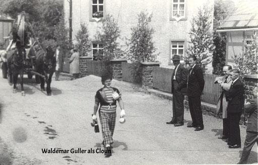 Wünschendorf Erzgebirge Schul und Heimatfest 1965 Waldemar Guller als Cloun