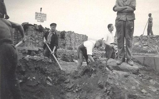 Wünschendorf Erzgebirge Wasserleitung 1951