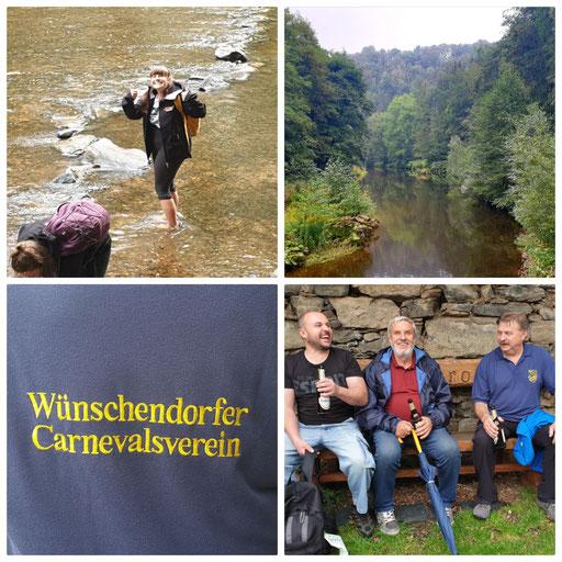 Wünschendorf WCV Sommerwanderung