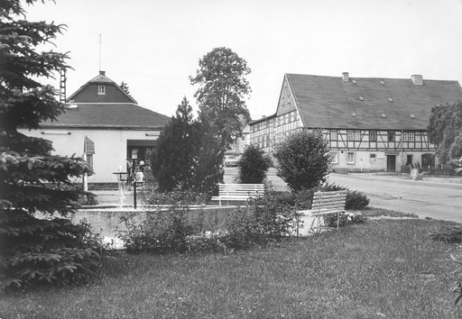 Wünschendorf Erzgebirge 1984 Karte: Archiv Teichler