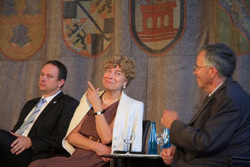 Georg Fahrenschon, Gesine Schwan und Henning Ottmann