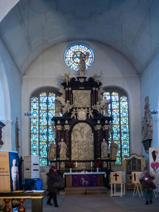 Bild: Der Altar