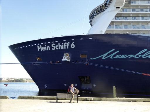 Bild: Mein Schiff 6 - Der Bug