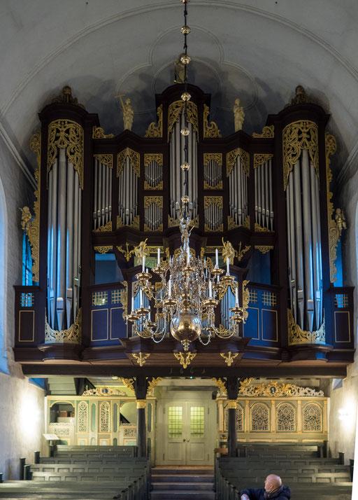 Bild: Die Kirchenorgel