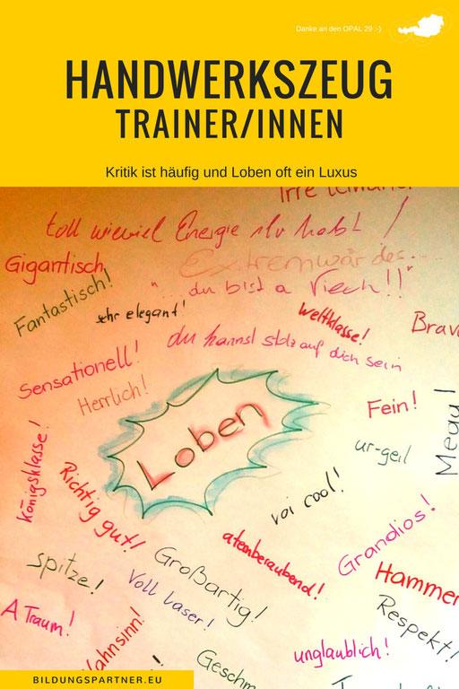 Trainer Handwerkszeug Loben- Bildungspartner Österreich