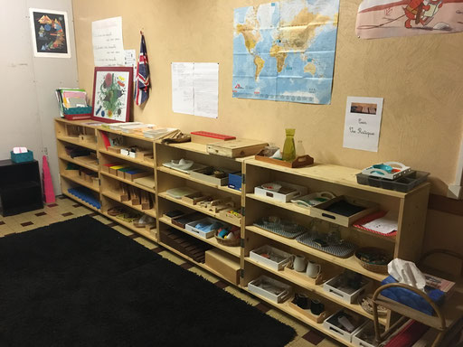 Le matériel Montessori