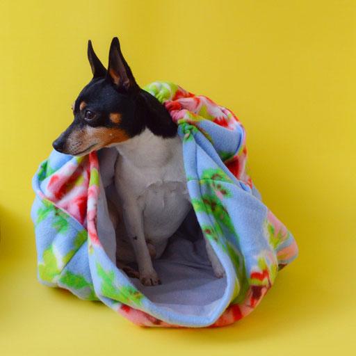 Флисовые домики-лежанки для собак