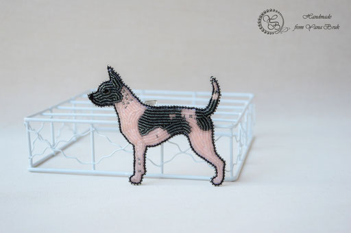 Бисерные собачки на заказ