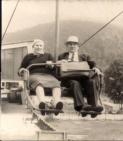 Marianne Badura ( 2. Frau) & Alfred Otto Katterwe
