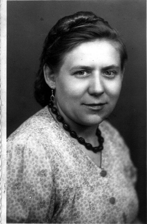 Gertrud Katterwe, geb. Zaunert