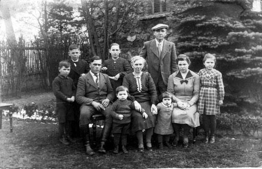 Bruder von Albert, Eduard-Gustav undPauline Katterwe ( Namen sind unbekannt )