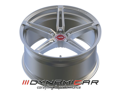 RAFFA WHEELS RF-01 MATT SILVER