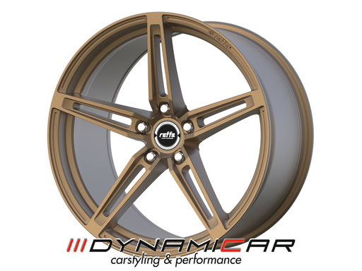RAFFA WHEELS RF-01 MATT BRONZE