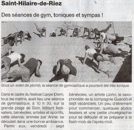 Ouest France - 16 août 2012