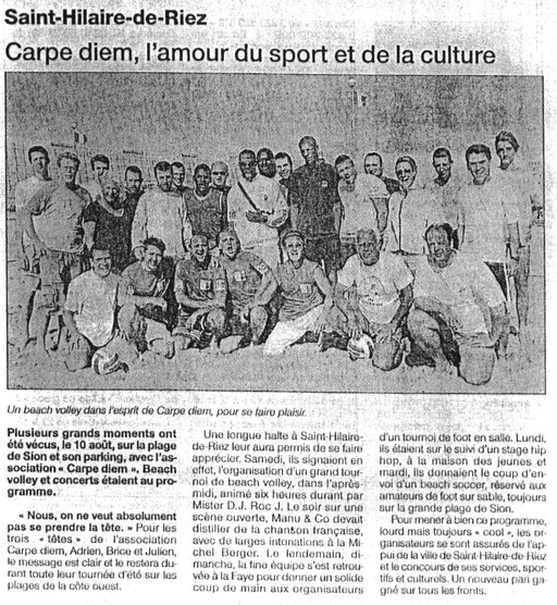 Ouest France - août 2002