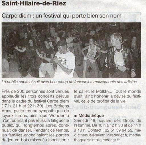 Ouest France - 17 août 2012