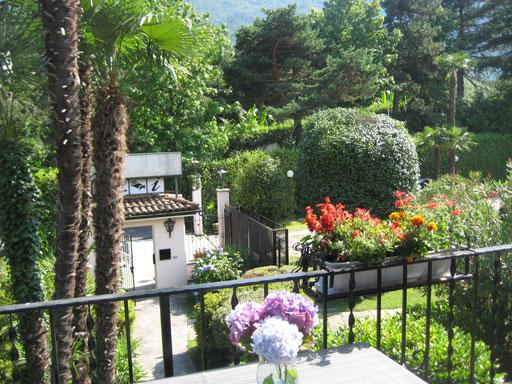 Balkonblick aus den Appartements