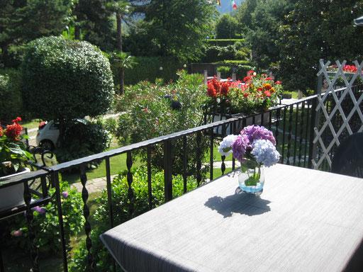Beispiel eines Balkonblickes