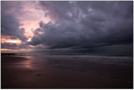 Herbststurm am Meer (Domburg:NL)