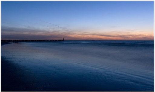 Blaue Stunde am Meer #2 (Domburg, NL)