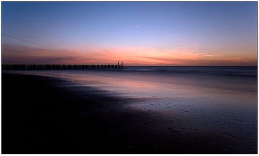Blaue Stunde am Meer #1 (Domburg, NL)