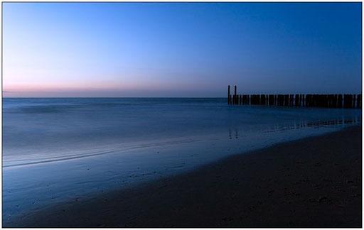 Blaue Stunde am Meer #3 (Domburg, NL)