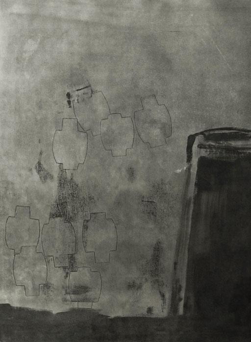 5050 - monotype - 75 x 56 cm