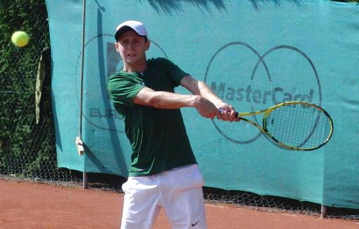 Halbfinalist Luis Erlenbusch