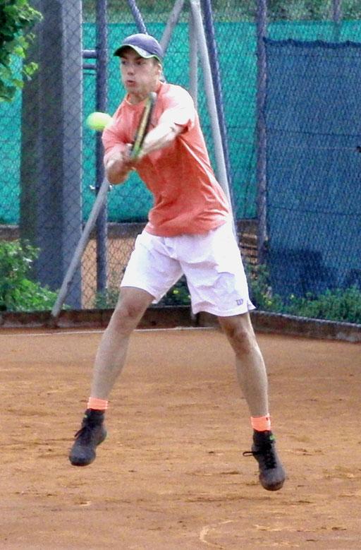 Viertelfinalist Robert Strombach