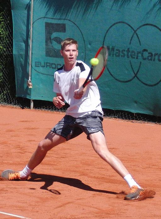 Halbfinalist Lucas Gerch