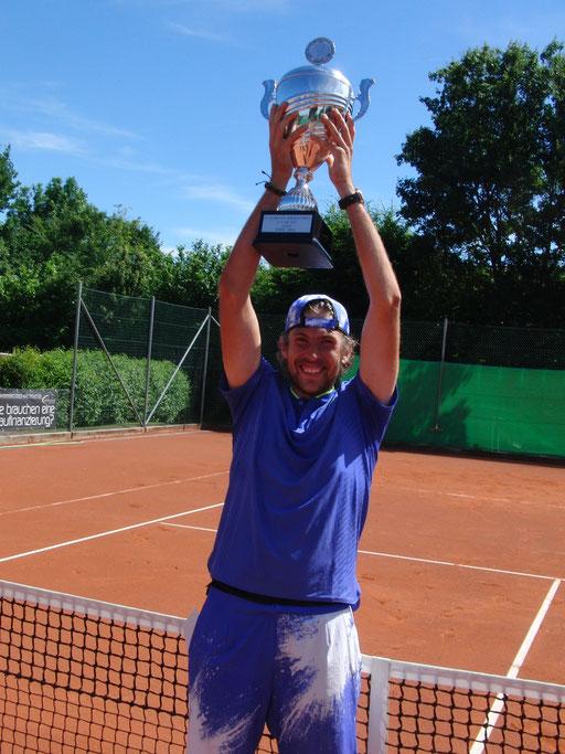 Der Turniersieger Chr. Negritu