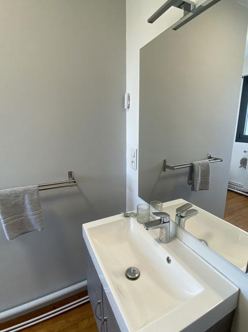 hébergement dormir en Baie de Somme le crotoy chambre d'hôte avec sanitaires privés parking gratuit et chambre vue mer
