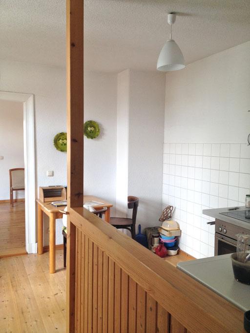 dieartigeUMBAU - Von der Küche zum Bad - VORHERBilder