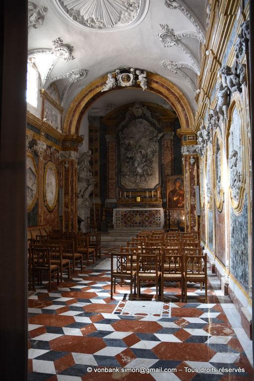 [NU906-2019-1713] Santa Maria Nuova (Monreale) : Chapelle Saint Benoît (XVIII°)