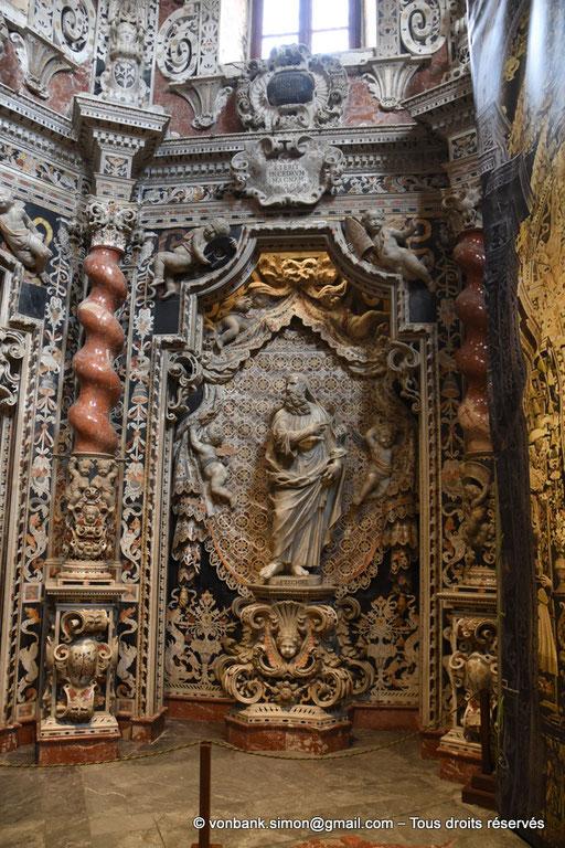 [NU906-2019-1725] Santa Maria Nuova (Monreale) :  Grand Prophète Ezéchiel (Chapelle du Crucifix, XVII°)