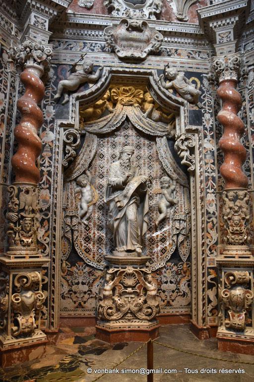 [NU906-2019-1726] Santa Maria Nuova (Monreale) :  Grand Prophète Jérémie (Chapelle du Crucifix, XVII°)