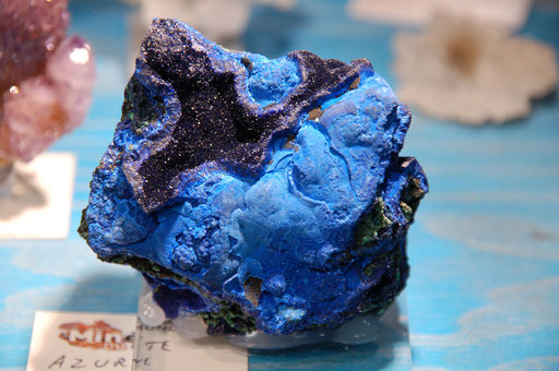 AZURITE - Sepon Mine, Savannakhet - LAOS
