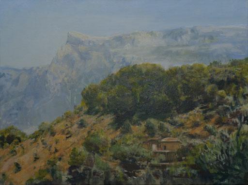 """""""Bei Soller (Mallorca)"""", Öl/Acryl, 80x60cm, 2009"""