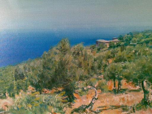 """""""Son Marroig(Mallorca)"""", Acryl, 70x50cm, 2010"""