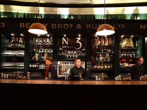 Berry Bros No 3 Bar at Royal Albert Hall, London