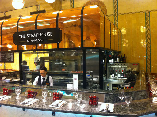The Steakhouse at Harrods, London
