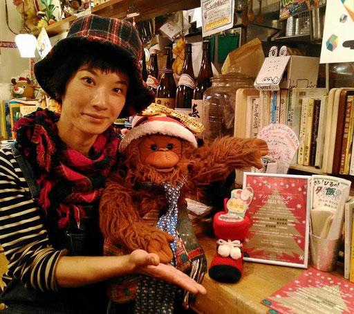 毎年応援してくれてる下北沢の小さなタイ料理店、ティッチャイ。みゆき隊長の作るタイフードは愛がいっぱい。一口食べれば元気が沸いてくる!