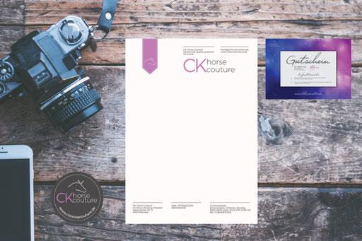 Corporate Design – CK horse Couture