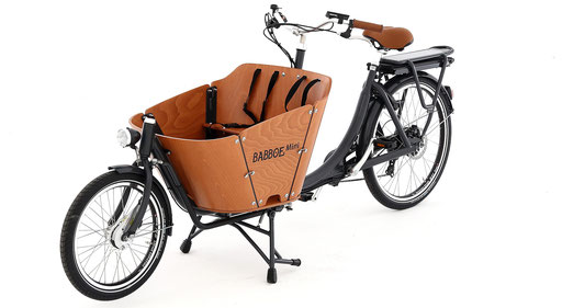 Die Transportbox des Babboe Mini-E 2020