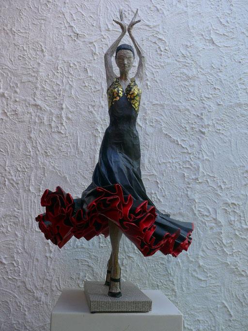 Elena Lichtsteiner, Skulpturen: Flamenco III (2016, 70 cm)