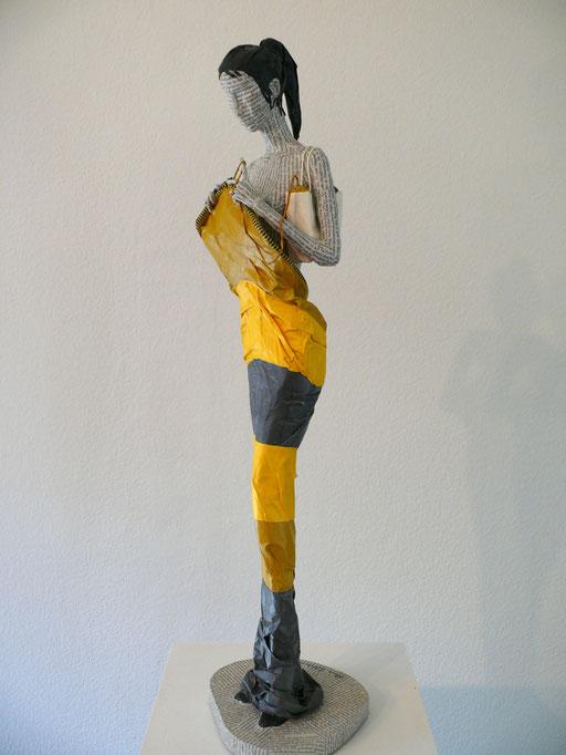 Elena Lichtsteiner: Striggede (2018; ca. 70 cm)
