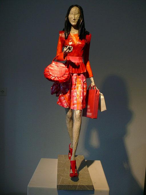 Elena Lichtsteiner, Skulpturen: Das gewisse Etwas (2015, 75 cm)
